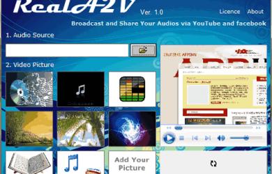 RealA2V - 将 MP3 转换为视频文件 14