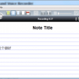 AudioNote - 可以同步时间线的录音笔记本 5