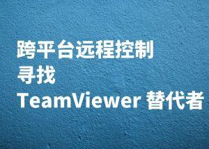 个人用户,求替代 Teamviewer 的远程控制软件 6