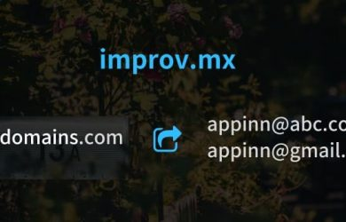 improv.mx - 无需企业域名邮箱,使用别名邮件转发到现有邮箱 16
