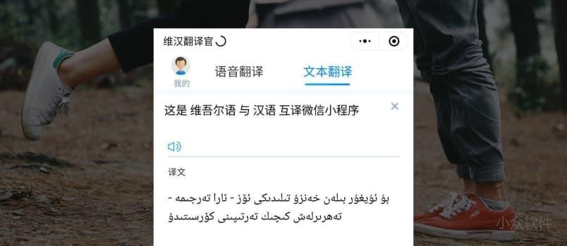 维汉翻译官 - 维吾尔语与汉语互相翻译[微信小程序] 4