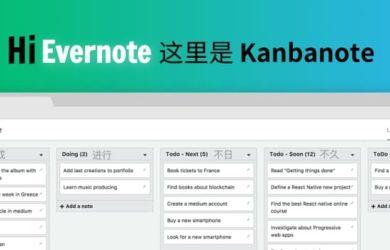 Kanbanote - 为 Evernote 创建看板式笔记,像 Trello 一样 2