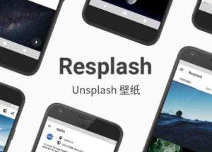 Resplash – 自动设置壁纸,浏览超过110万张 Unsplash 社区的精彩照片[Android]