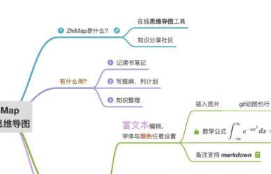 ZhiMap - 支持 LaTex 的在线思维导图工具 24