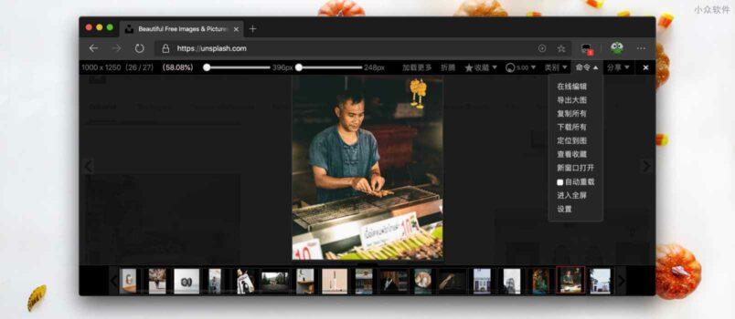 Picviewer CE+ - 批量下载网页图片必备,可对图片旋转、放大、导出原始大图、下载等功能 6