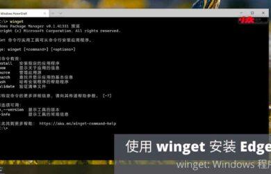 Windows 程序包管理器:使用 winget 安装 Edge 浏览器[视频] 15
