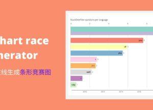 Bar chart race generator – 0 门槛,在线生成条形竞赛图动画