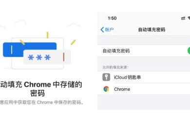Chrome 已支持在 iOS 同步密码,并在浏览器及第三方应用自动填充密码 11