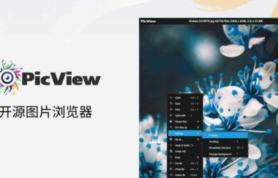 """PicView - 开源图片浏览器,可查看压缩包图片,快速、""""小巧""""[Windows] 10"""