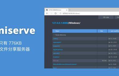 miniserve - 只有 776KB 的临时文件分享服务器[Win/Linux/macOS] 10