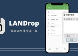 LANDrop - 类 AirDrop 跨平台局域网文件传输工具 13