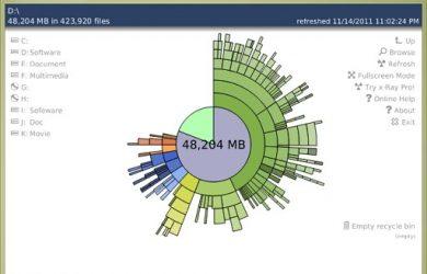 TDP x-Ray Lite - 饼状图磁盘管理工具 18