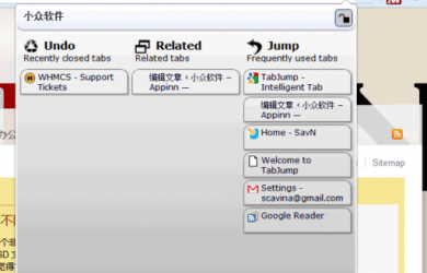 TabJump - Chrome 标签页导航扩展 21