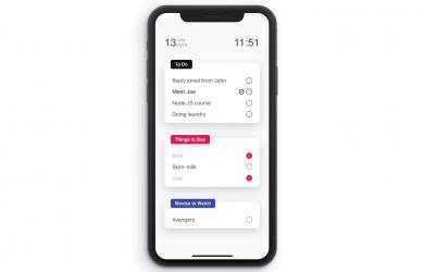 Listify - 一款简单的 todo 应用,开发者说只用了 3 天时间 [iPhone] 2