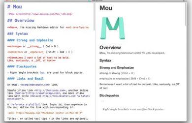 Mou - Markdown 语言编辑器 [Mac] 11