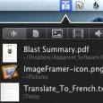 Blast - 最近使用文件列表[Mac] 1