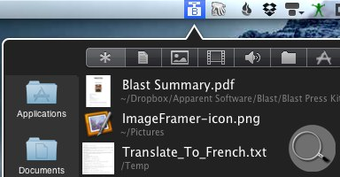 Blast - 最近使用文件列表[Mac] 17