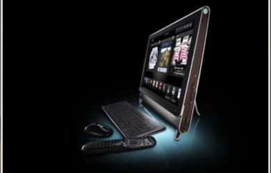 惠普的 TouchSmart 触摸屏家用电脑 1