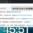 删除 Chrome 地址栏中不需要的网址(历史记录/联想查询内容) 6
