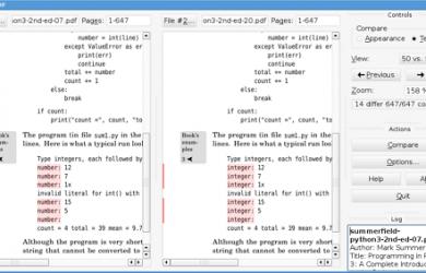 DiffPDF - PDF 文档对比软件 8