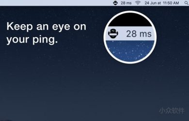 PingMan - 在菜单栏实时监控 Ping 响应时间信息 [macOS] 44
