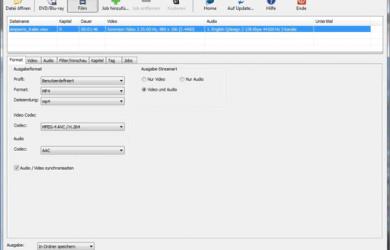 XMedia Recode - 免费的视频格式转换工具 24