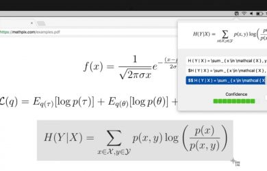 Mathpix - 将图片数学公式转换为 LaTeX 27