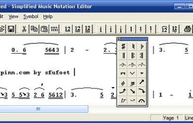 S-Music - 不支持中文的简谱编辑器 7
