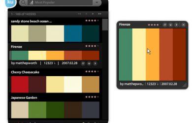 Kuler - Adobe 的配色工具[AIR] 28