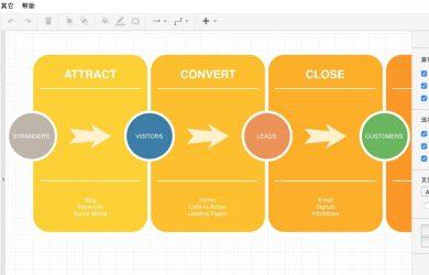 数字绘 - 基于开源项目的流程图绘制工具 14