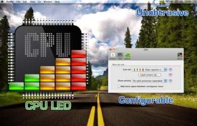 CPU LED - 菜单栏监视 CPU 负载 [Mac] 17