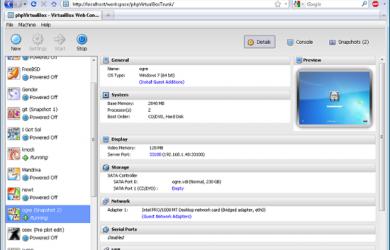 phpVirtualBox - 用浏览器操作虚拟机 3