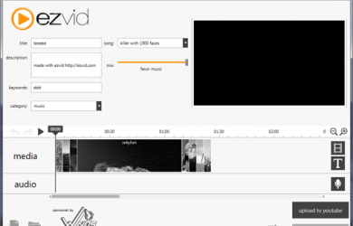 Ezvid - 易用的视频/幻灯制作工具 1