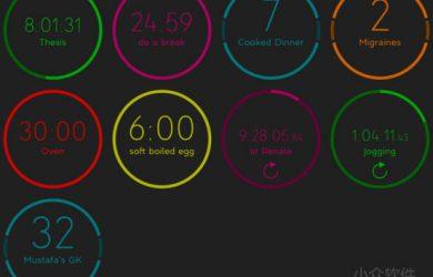 QuantiFocus - 注重效率的时间、事件跟踪应用[iPad/iPhone] 17
