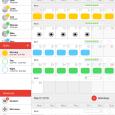 Dienstag - 价值 128 元的轮班表、排班表、值班计划[iPad] 11