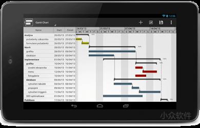 GanttMan - 适合平板的「甘特图」应用[Android] 8