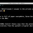 T, Twitter CLI - 这是一个通过命令行使用 Twitter 的工具 5