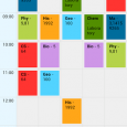 TimeTable - 直观的管理你的学校生活[Android] 6