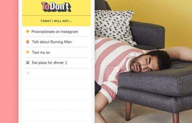 Todon't - 记录你「不要做」的事情[Chrome 新标签页/iOS] 63